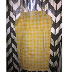 Forever 21 Women's Plaid Patterned Plus Size Dress